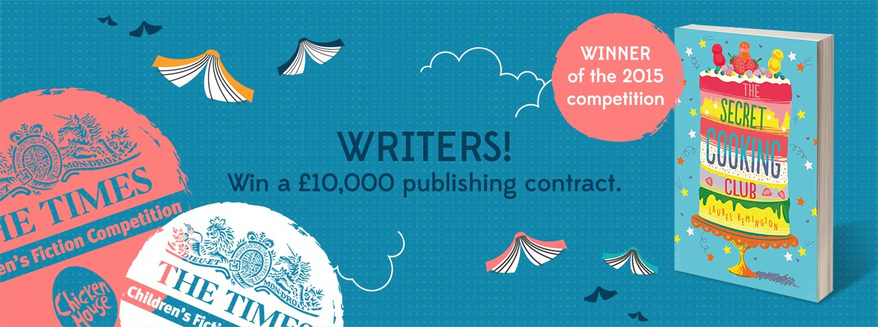 Writers, win a £10,000 publishing contract!