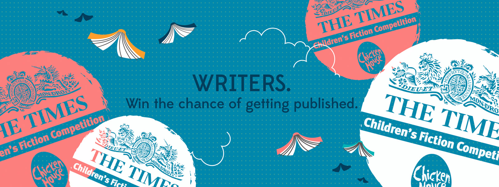 Writers, win the chance of getting published!
