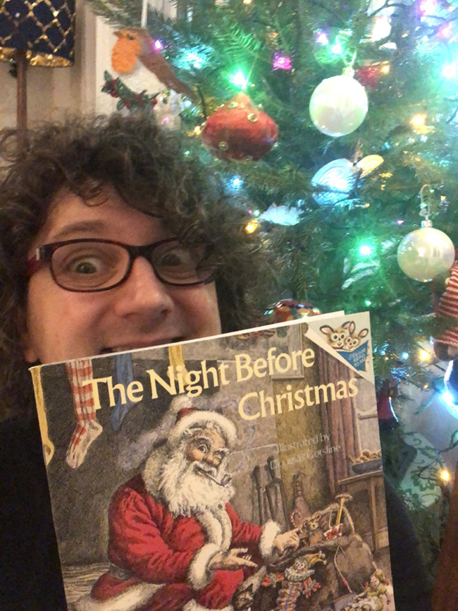 James Nichol Christmas read