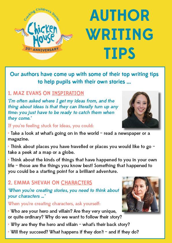 Writing tips story Short Story