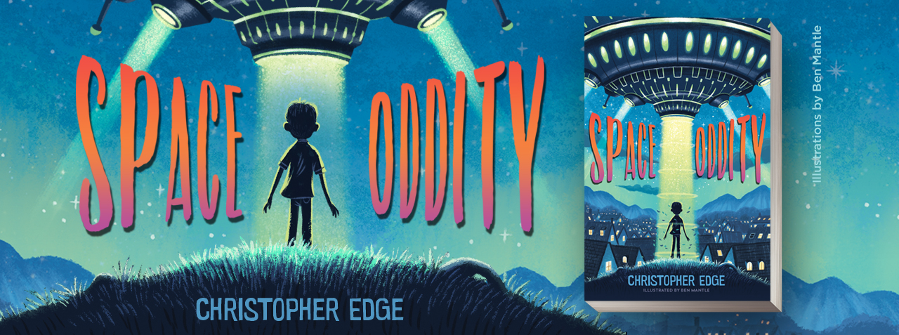 SPACE ODDITY by Christopher Edge