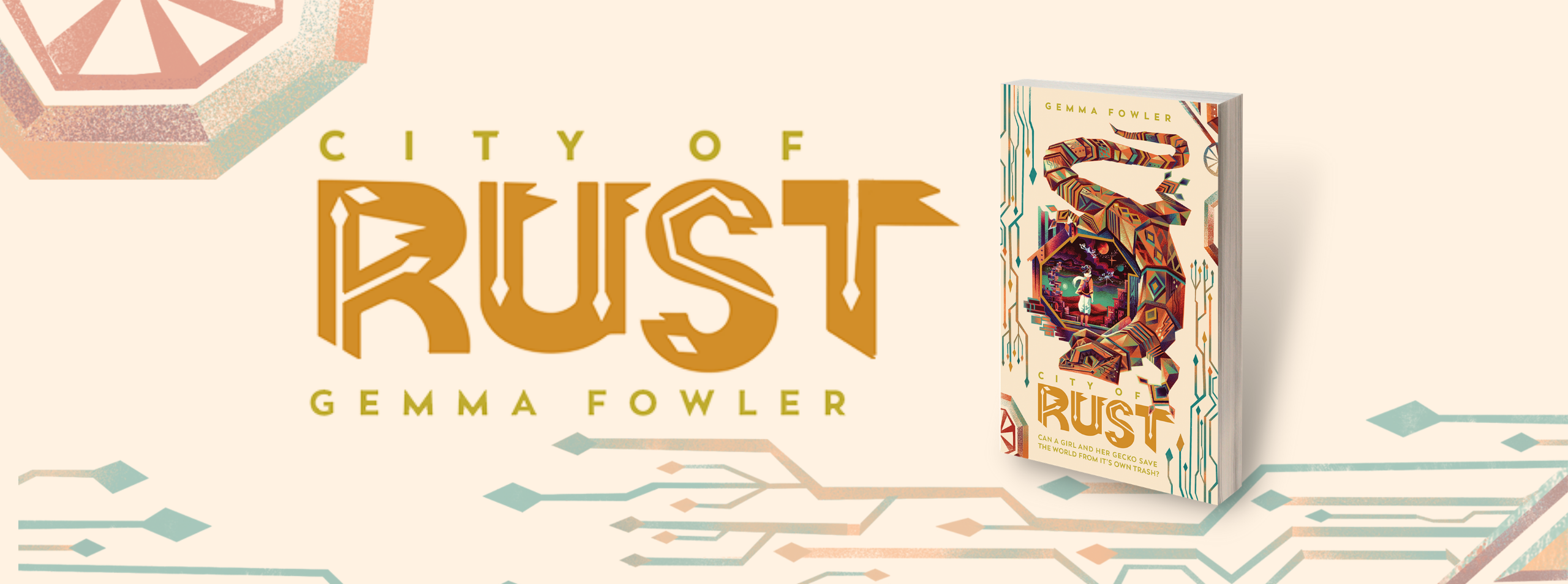 CITY OF RUST by Gemma Fowler