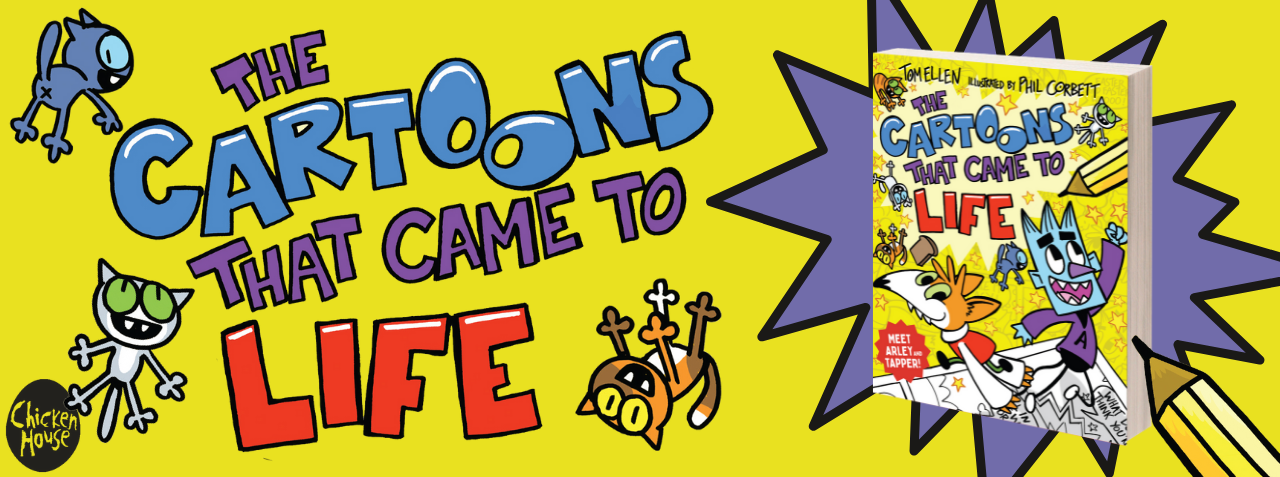 THE CARTOONS THAT CAME TO LIFE by Tom Ellen